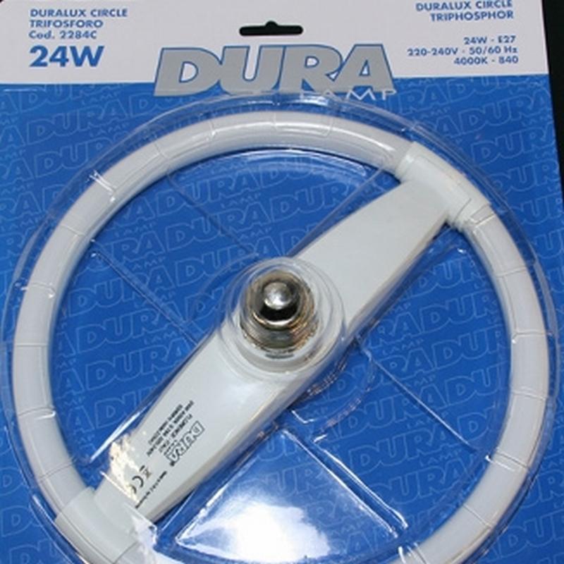Duralux circle lamp