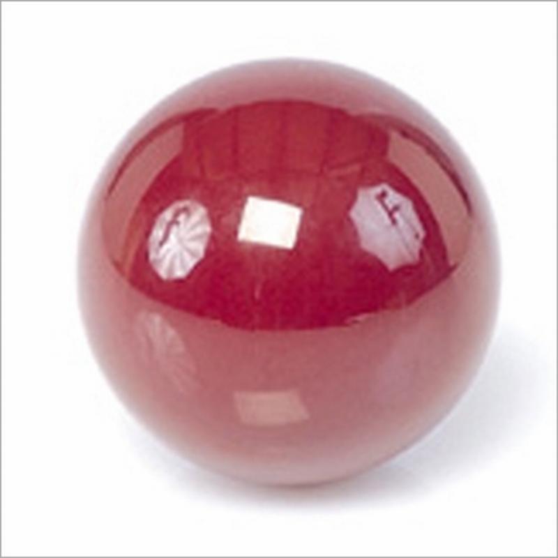Biljartbal los 61 5 mm kleur rood - Decoratie biljart ...